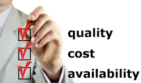 Veck quality cost availability