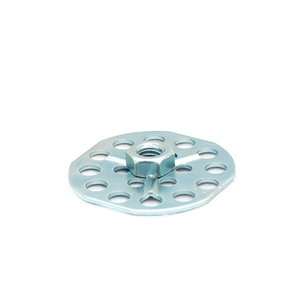 Mild Steel female hex nut (blind)
