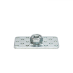 a 12mm lock nut on a 3mm thick base