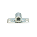 a threaded insert extended range fastener perpendicular to its base plate